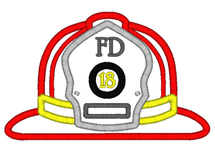 5x7 FIREFIGHTER HAT