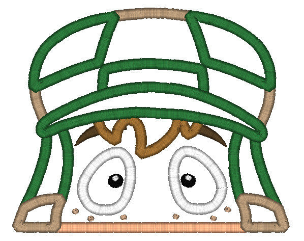 5X7 EL CHAVO HEAD FOR HOODED TOWEL