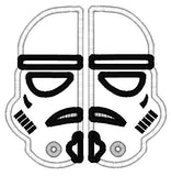 5x7 SPLIT STORMTROPPER MASK