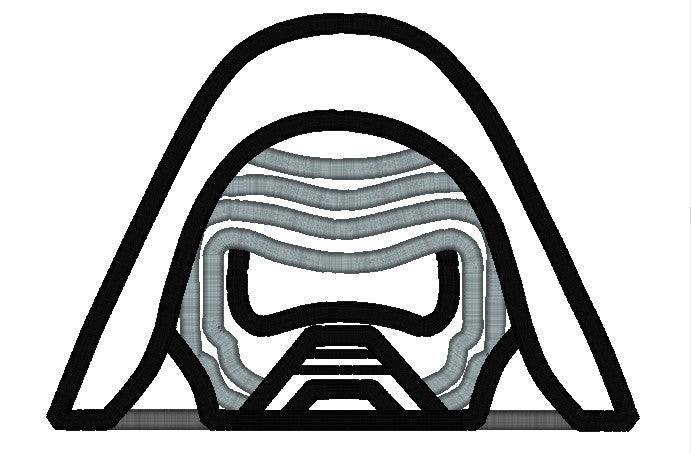5X7 KYLO REN NEW DARTH VADER EPISODE VII HEAD FOR HOODED TOWEL