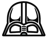 5x7 DARTH VADER HEAD FOR HOODED TOWEL