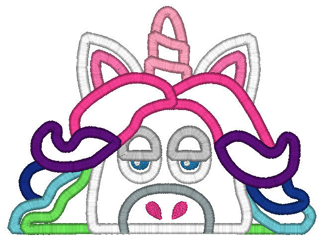 5x7 UNICORN INSIDE OUT HEAD FOR HOODED TOWEL