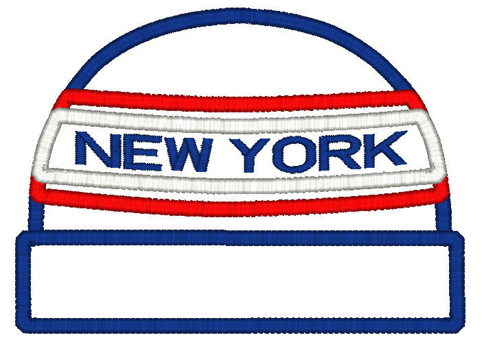 5x7 NY BEANIE FOR HOODED TOWEL