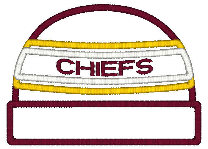 5x7 CHIEFS BEANIE FOR HOODED TOWEL