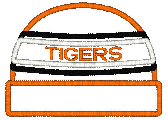 5x7 TIGERS BEANIE FOR HOODED TOWEL