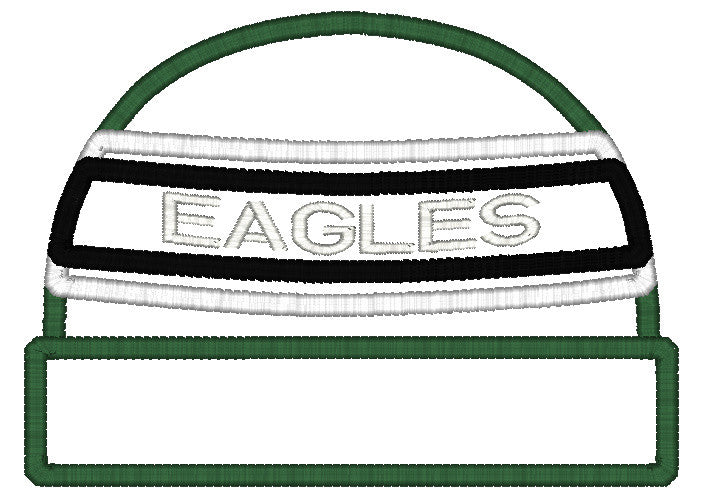 5x7 EAGLES BEANIE FOR HOODED TOWEL