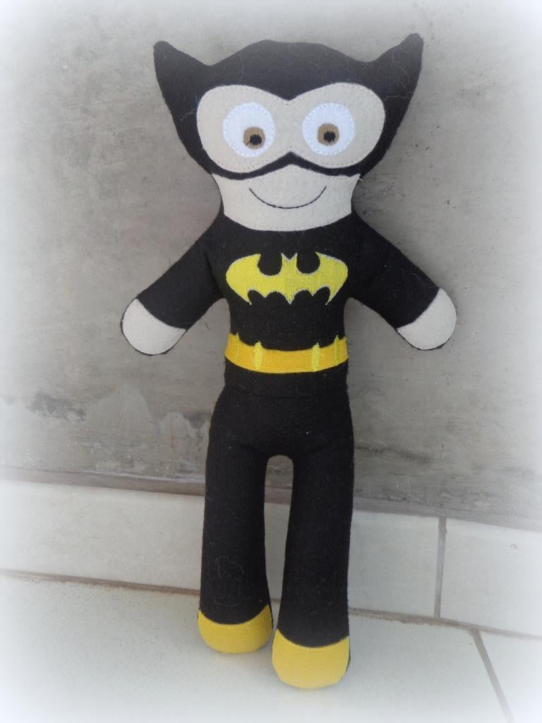 BATMAN DOLL PATTERN