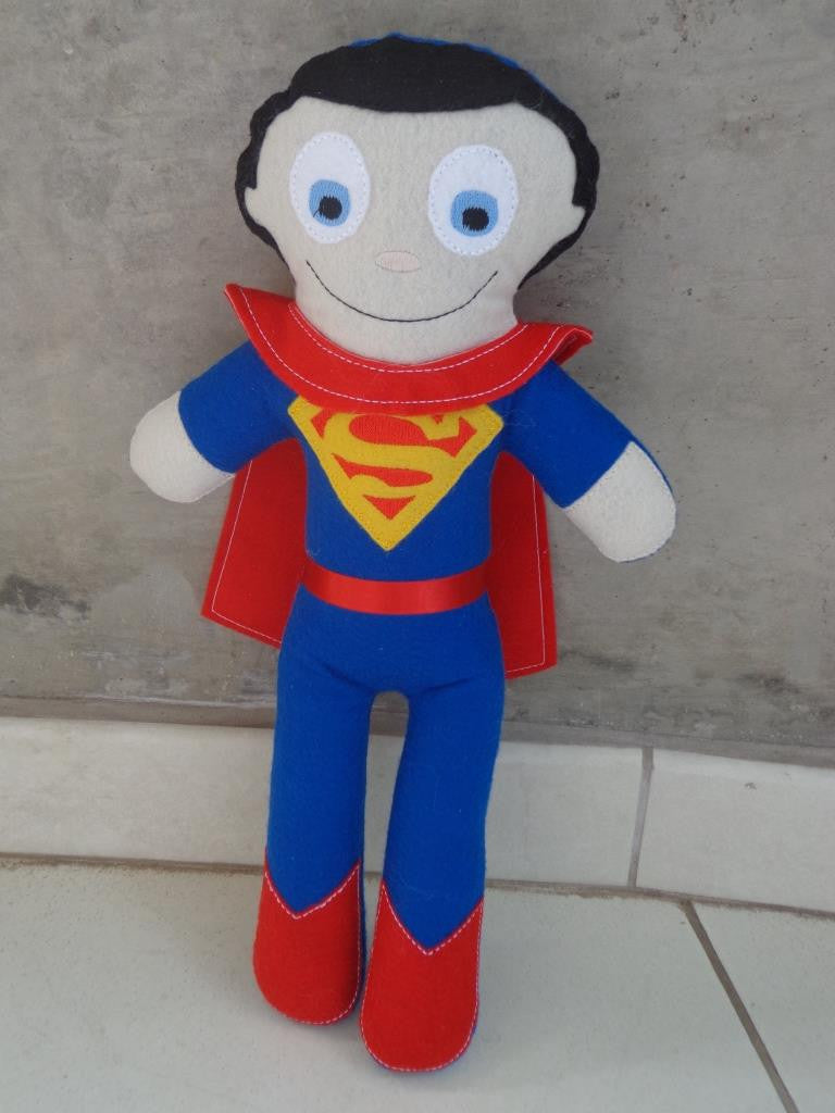 SUPERMAN DOLL PATTERN