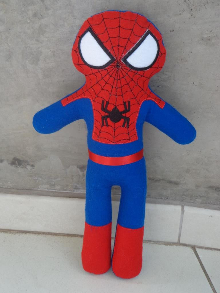 SPIDERMAN DOLL PATTERN