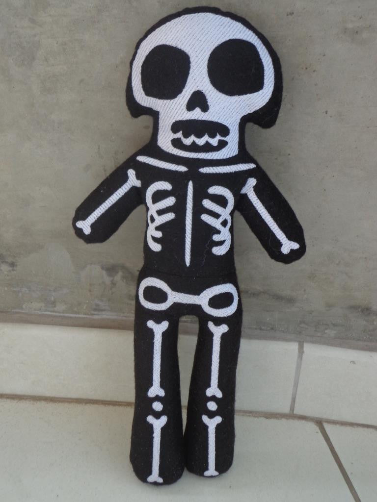 SKELETON DOLL PATTERN