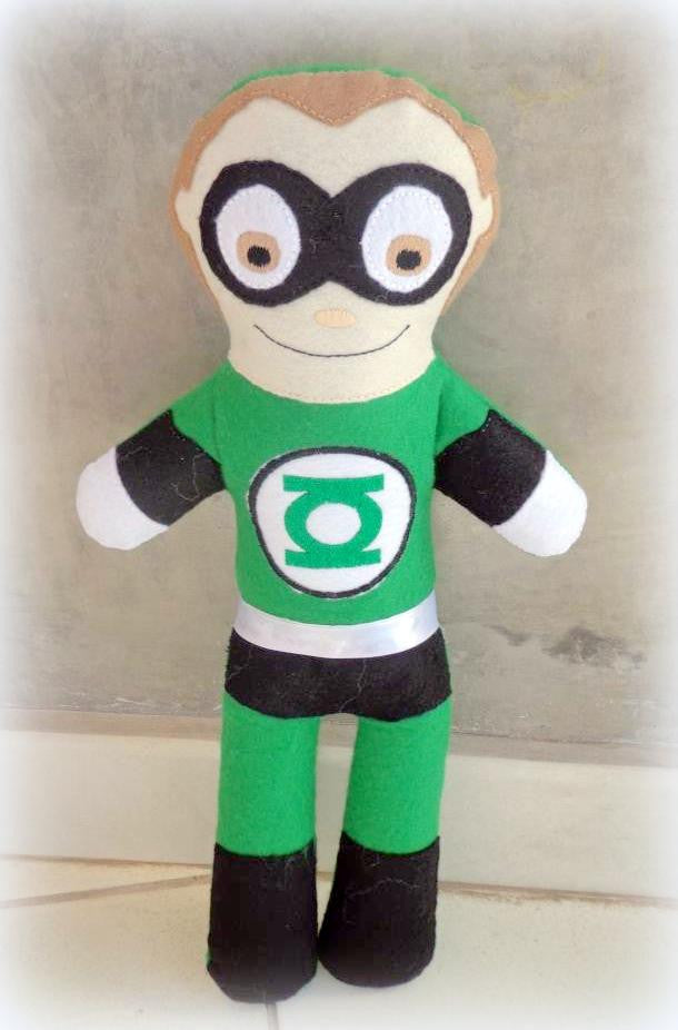 GREEN LANTERN DOLL PATTERN
