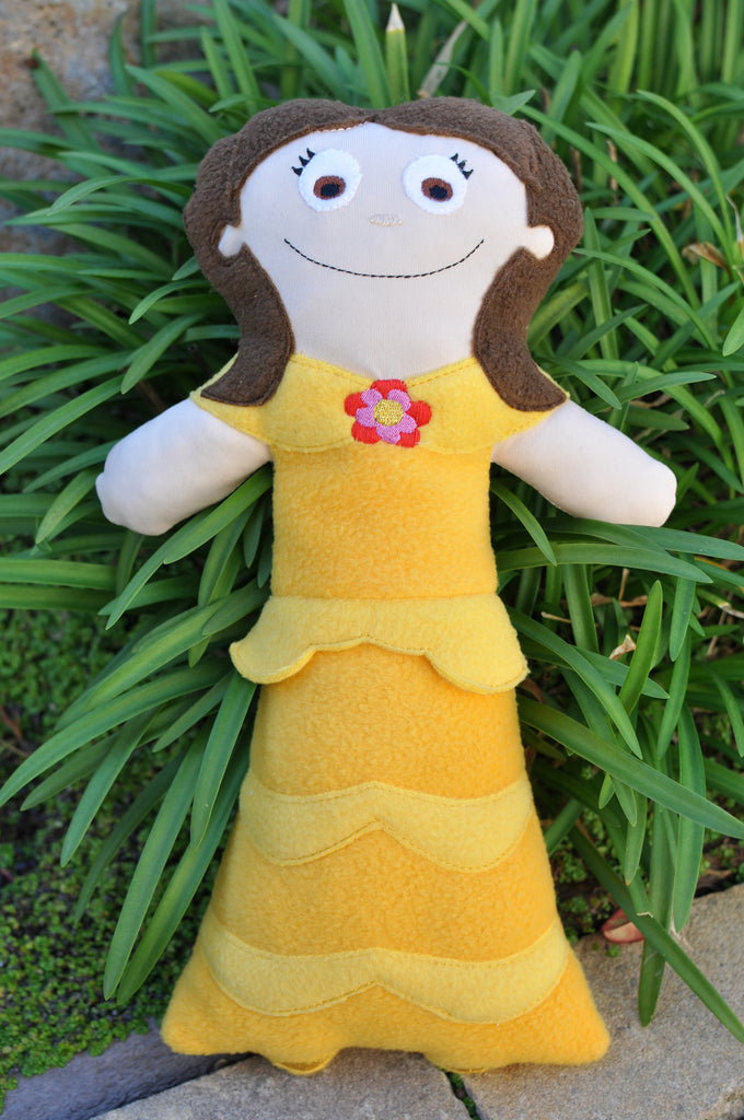 BELLE PRINCESS PATTERN