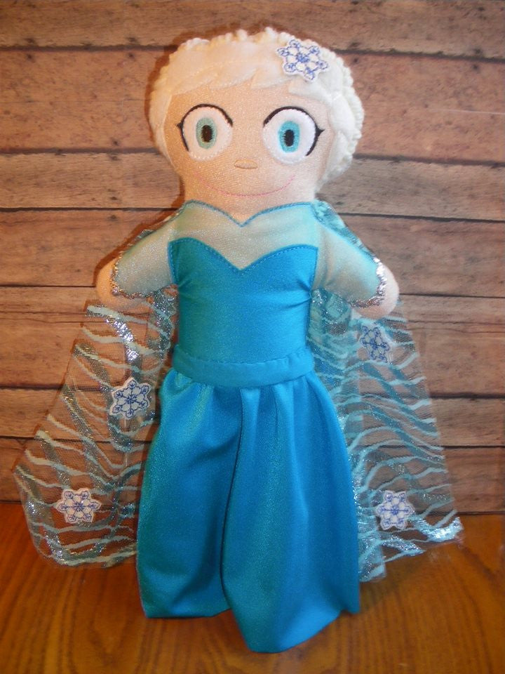 ELSA FROZEN DOLL PATTERN