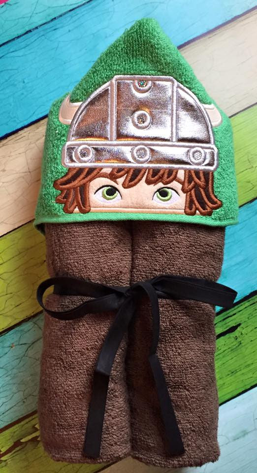 5x7 HICCUP HEAD FOR HOODED TOWEL
