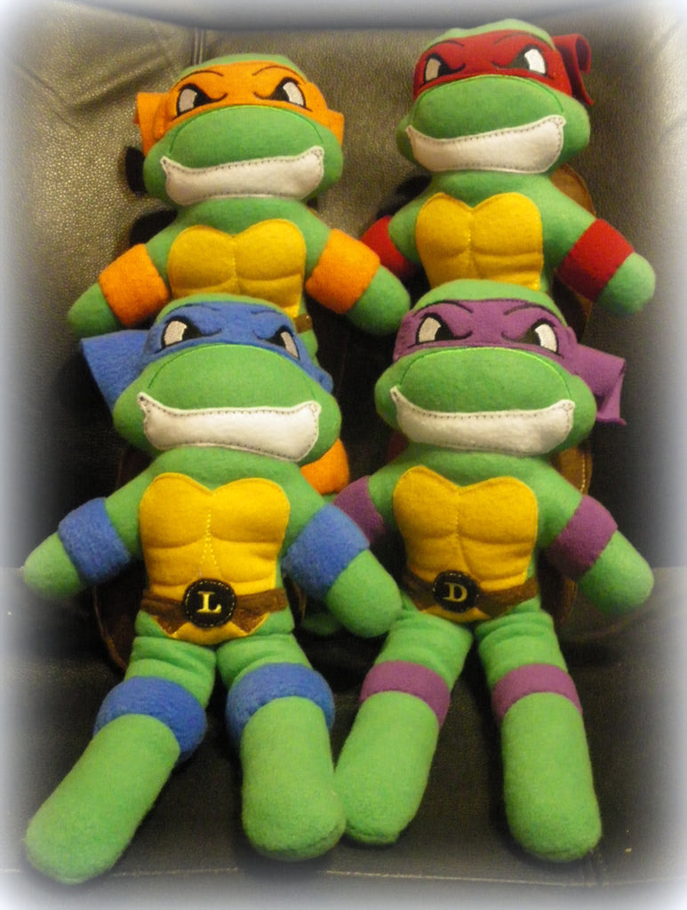 NINJA TURTLE DOLL PATTERN
