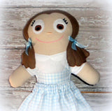 DOROTHY WIZARD OF OZ DOLL PATTERN