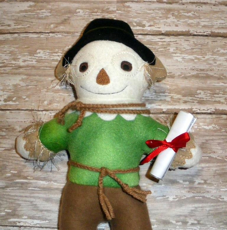 SCARECROW WIZARD OF OZ DOLL PATTERN
