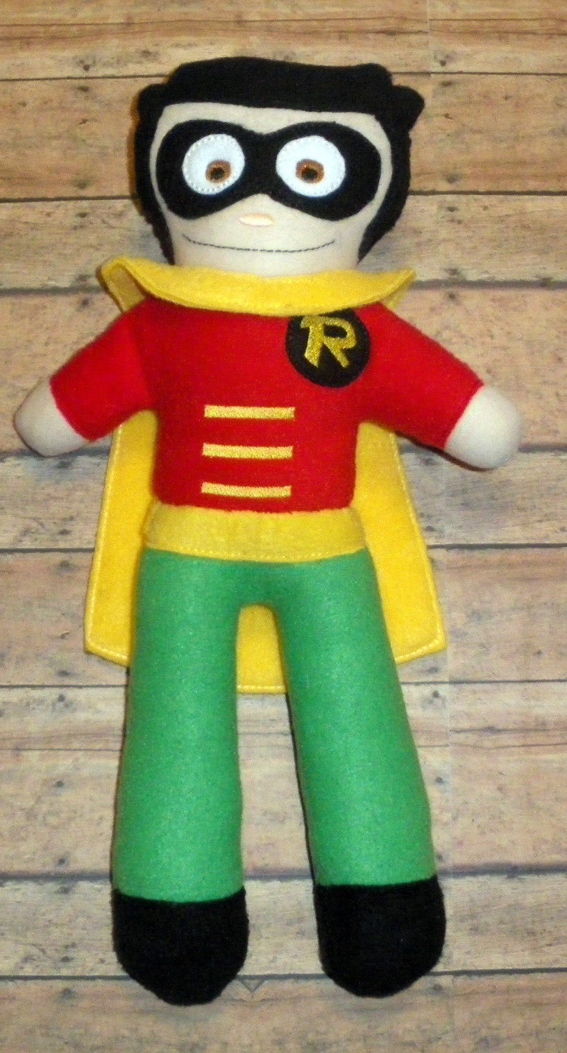 ROBIN DOLL PATTERN