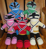 POWER RANGER DOLL PATTERN SET