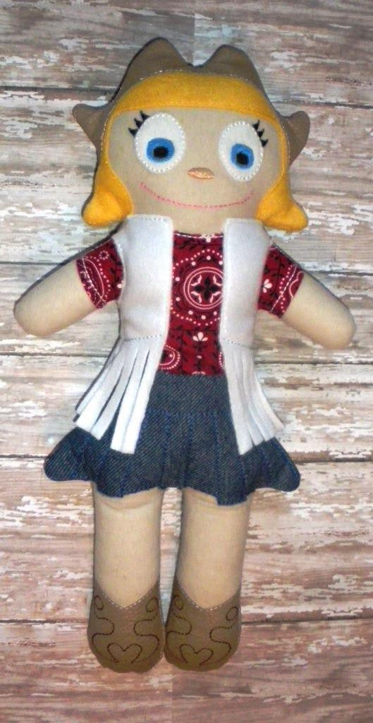 COWGIRL DOLL PATTERN