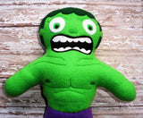HULK DOLL PATTERN