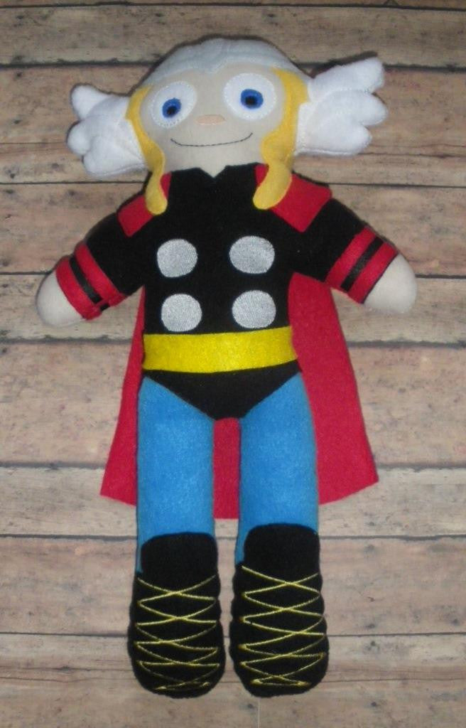 THOR DOLL PATTERN