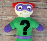 RIDDLER VILLAIN DOLL PATTERN