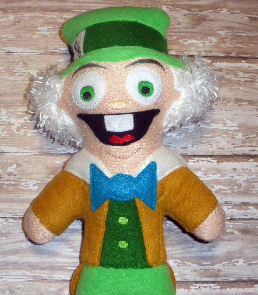 MAD HATTER DOLL PATTERN