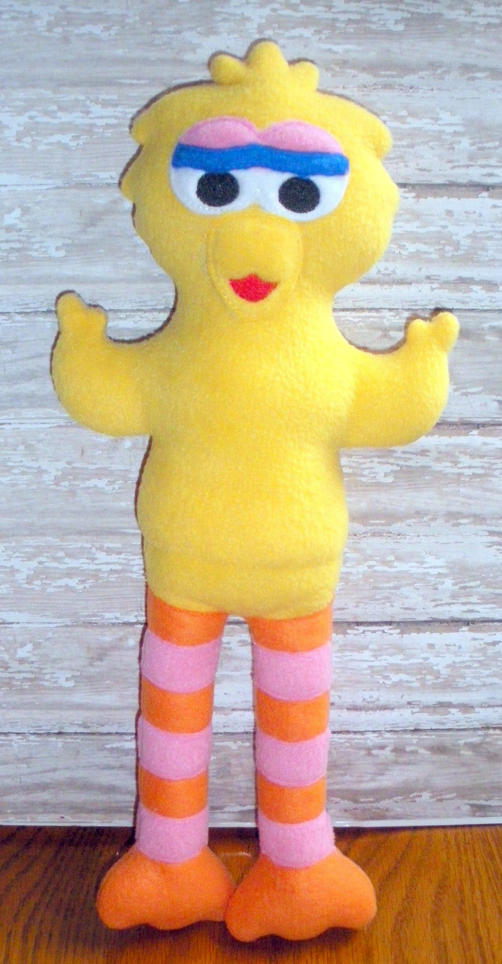 BIG BIRD DOLL PATTERN