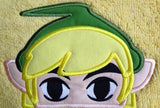5x7 LINK HERO HEAD FOR HOODED TOWEL
