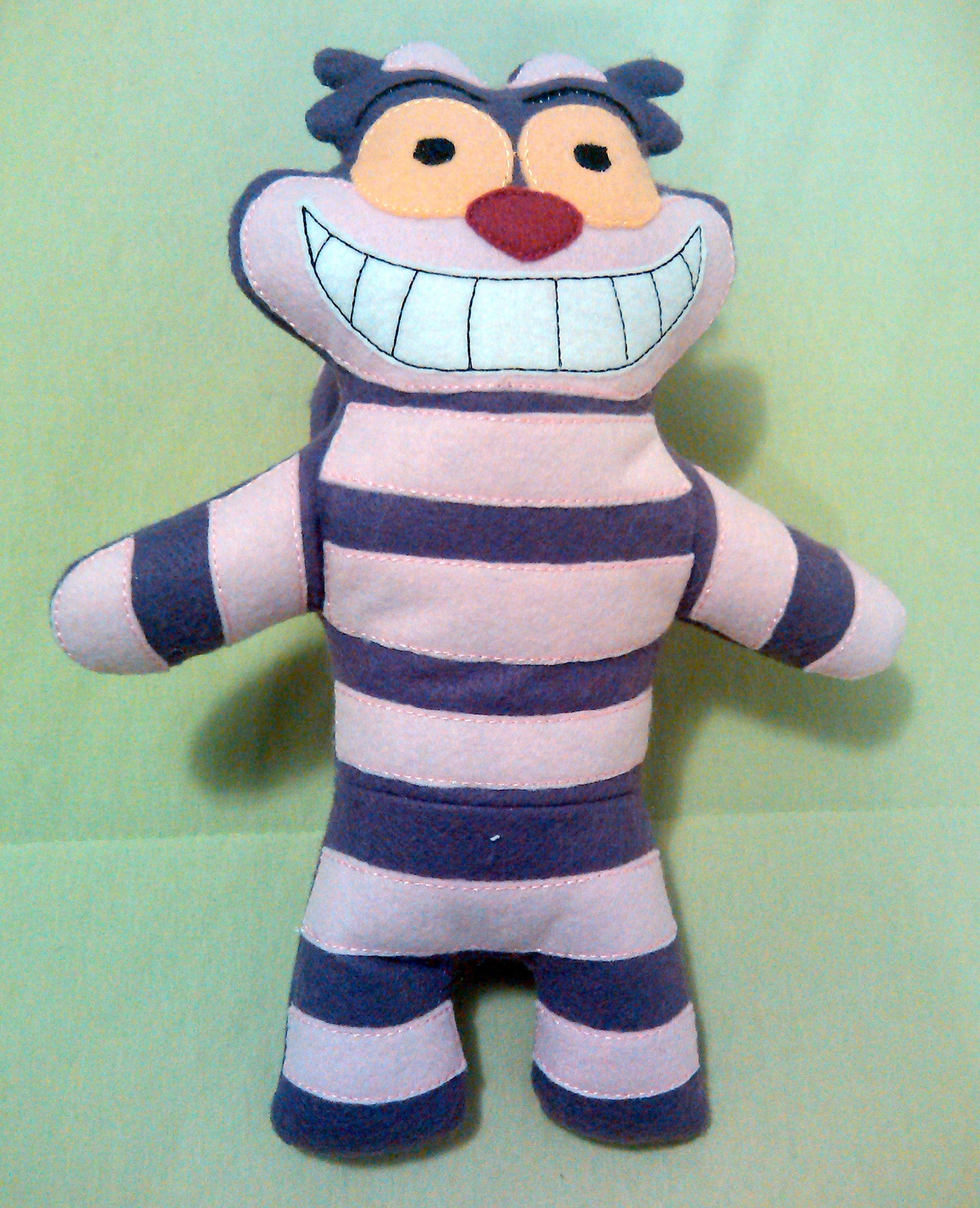 CHESHIRE CAT DOLL PATTERN