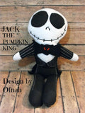 JACK PUMPKIN KING DOLL PATTERN