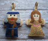 NATIVITY FINGER PUPPETS SET PATTERNS