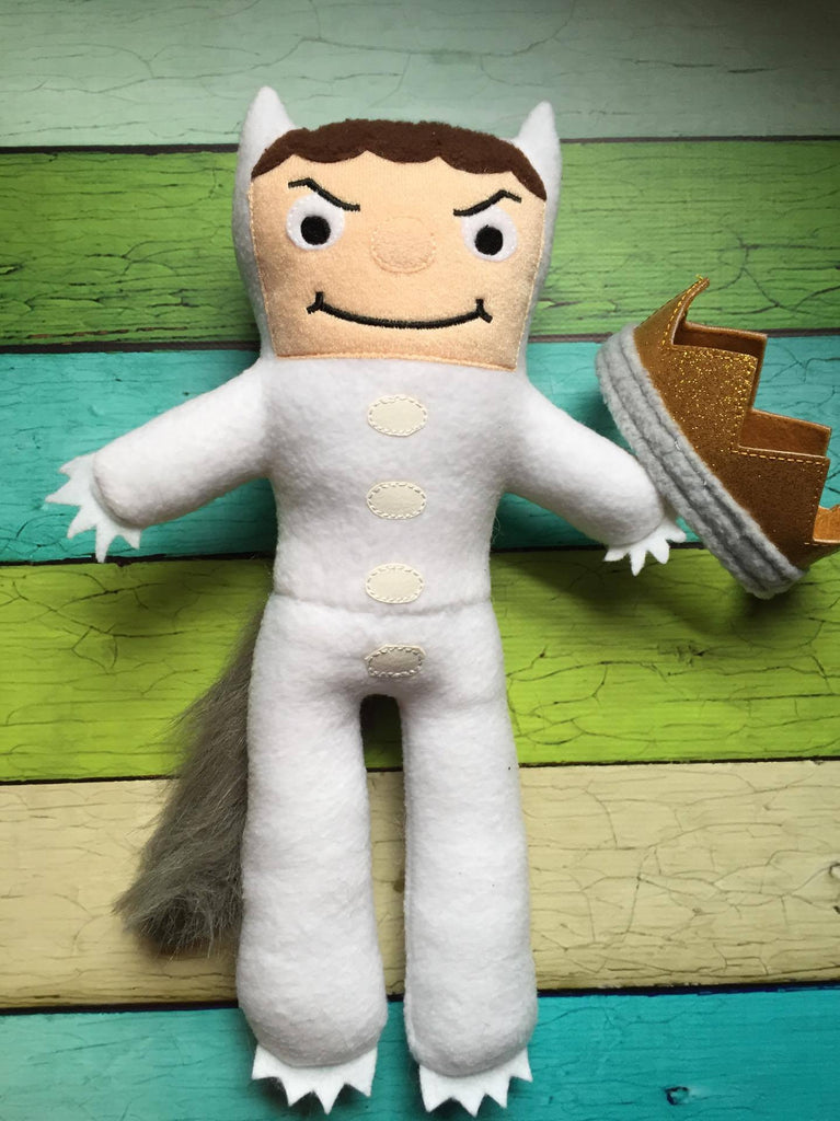 MAX WHERE THE WILD THINGS ARE DOLL PATTERN