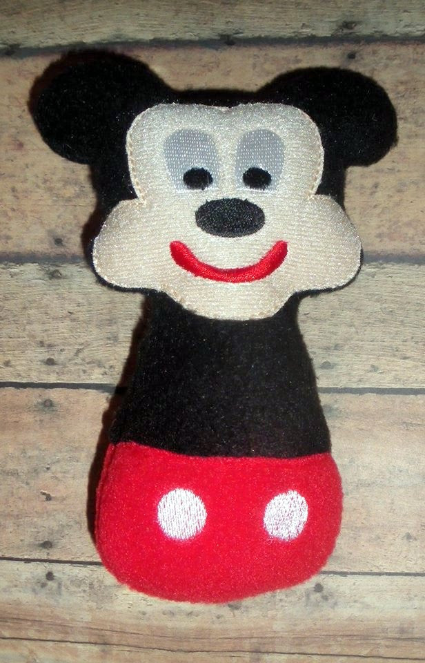 MR MOUSE RATTLE PATTERN
