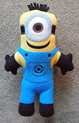 1 EYE MINION DOLL PATTERN