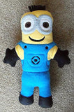 2 EYES MINION DOLL PATTERN