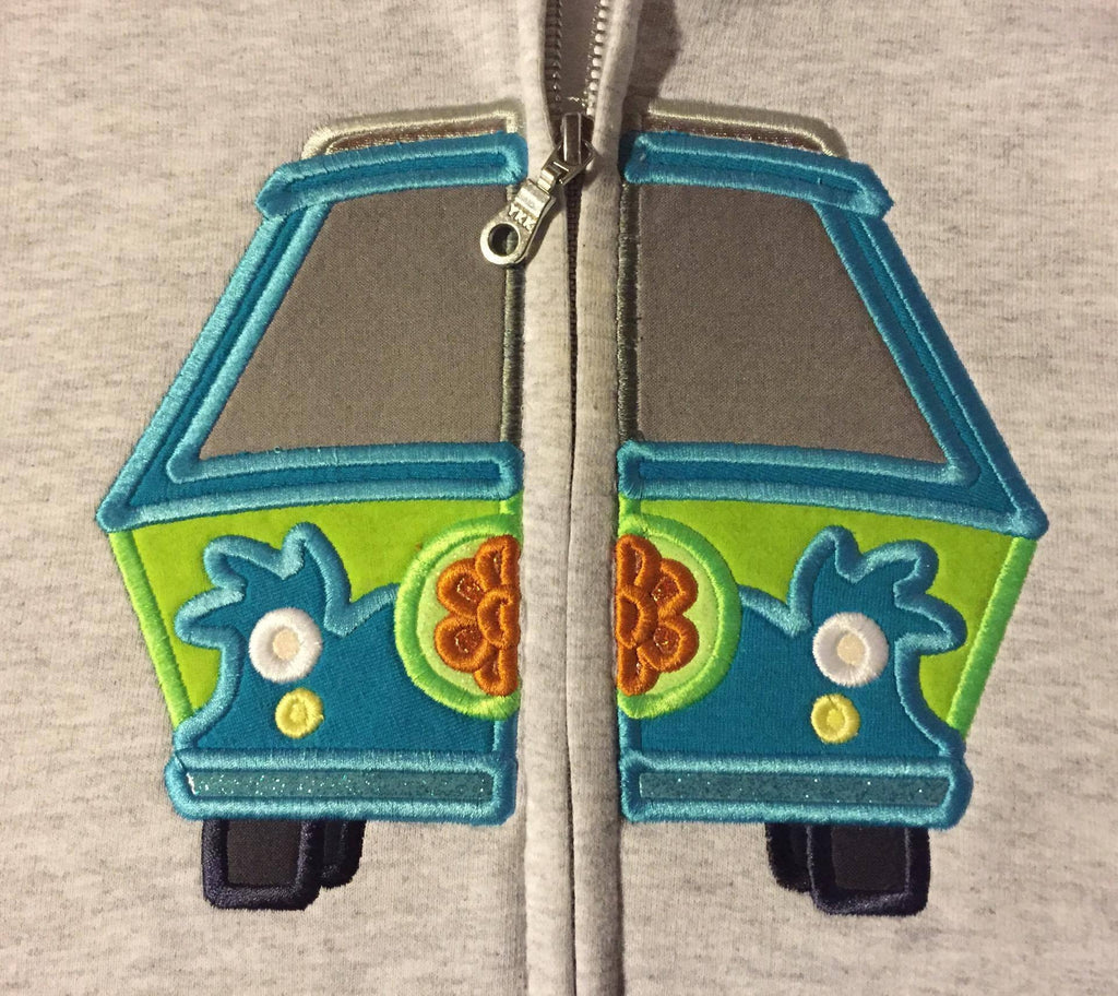 5x7 SPLIT MYSTERY MACHINE VAN