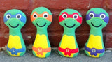 NINJA TURTLE RATTLE PATTERN
