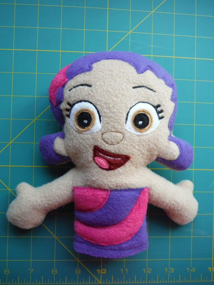 OONA BUBBLE GUPPIE DOLL PATTERN