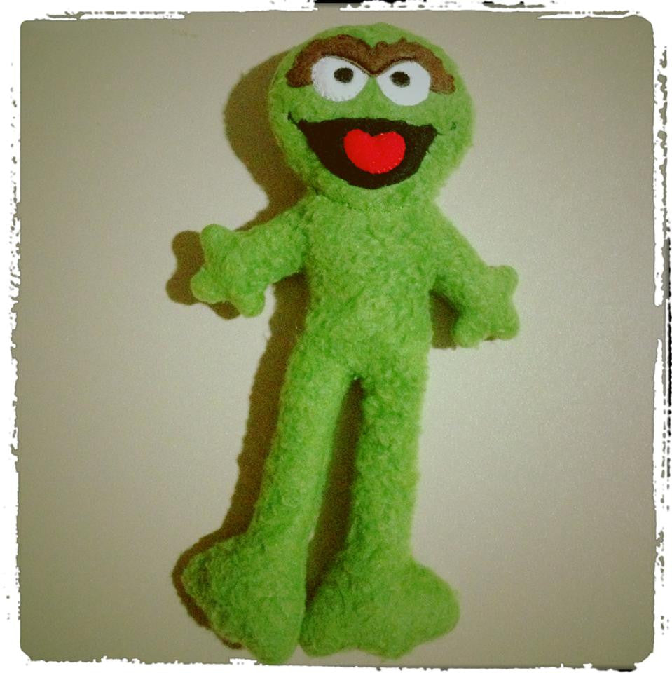 OSCAR THE GROUCH DOLL PATTERN
