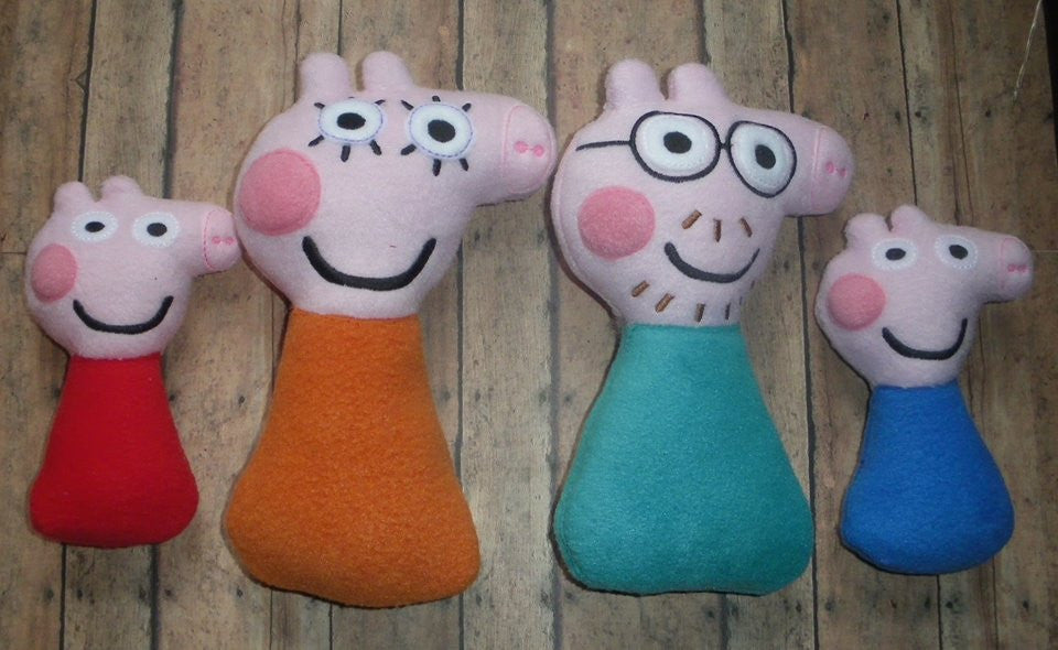 PEPPA PIG FAMILY RATTLE PATTERNS