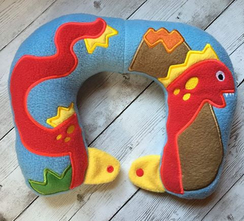 8X12 DINOSAUR NECK PILLOW