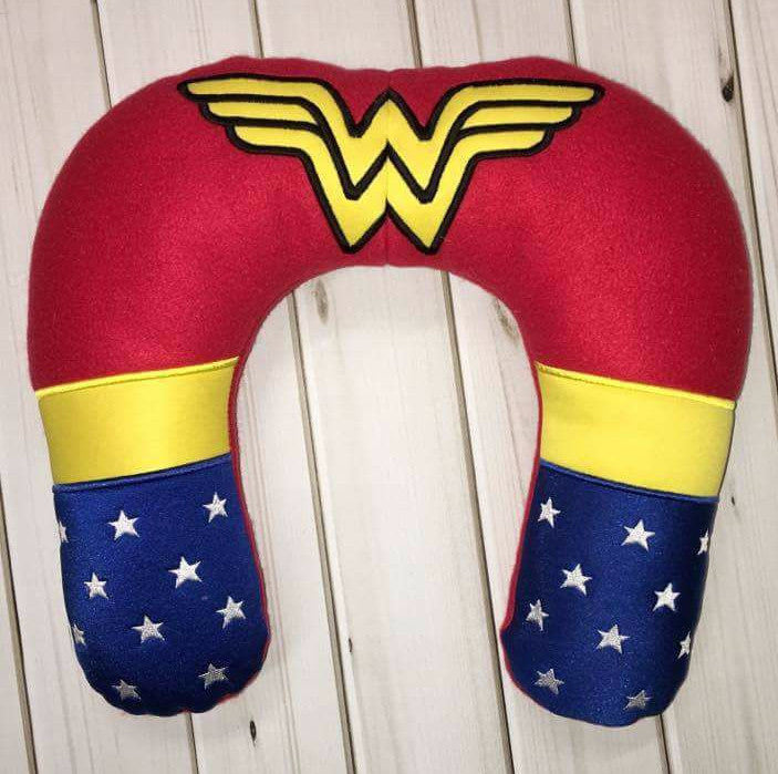 6X10 & 8X12 WONDER HERO INSPIRED NECK PILLOW