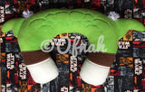 6X10 & 8X12 GREEN JEDI MASTER NECK PILLOW