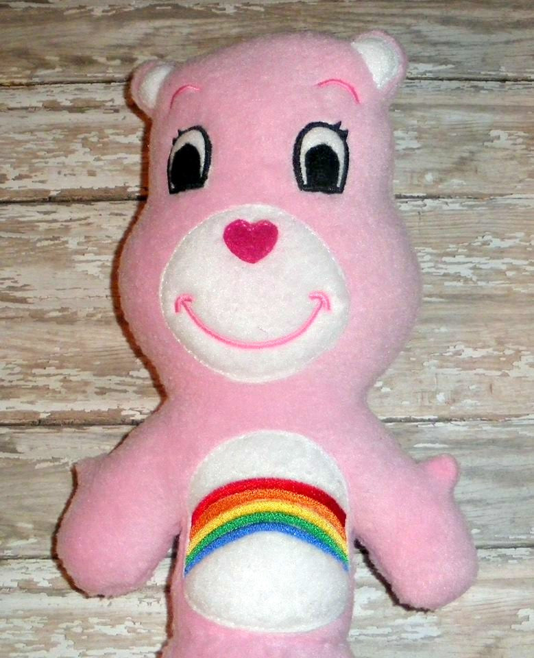 RAINBOW CAREBEAR DOLL PATTERN