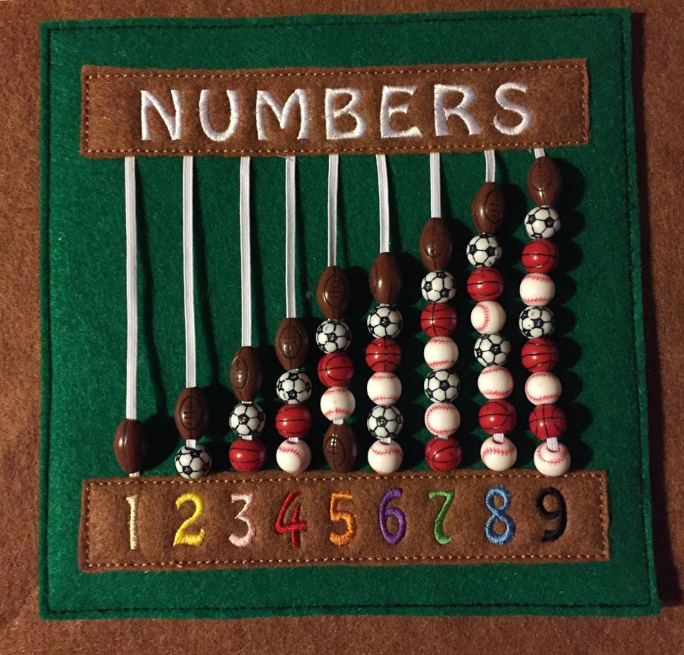 6X6 & 8X8 NUMBERS & BEADS ITH QBP