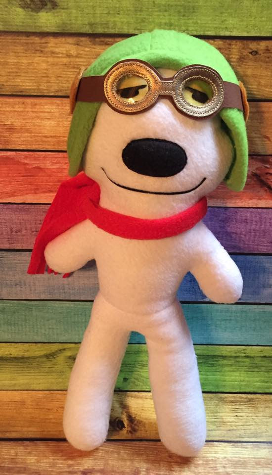 SNOOPER DOG DOLL PATTERN