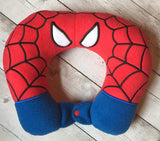 6X10 AND 8X12 SPIDER HERO NECK PILLOW