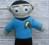 SPOCK DOLL PATTERN